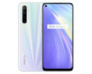 "Mobilusis telefonas Realme 6 Comet White 6.5"" 64GB Dual SIM"