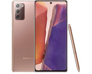 "Mobilusis telefonas Samsung Galaxy Note20 Mystic Bronze 6.7"" 256GB Dual SIM"