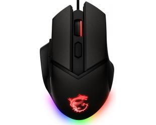 Žaidimų pelė MSI Clutch GM20 Elite Optical, RGB LED light, Black, Gaming Mouse