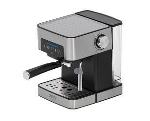 Kavos aparatas Camry Espresso and Cappuccino Coffee Machine CR 4410 Pump pressure 15 bar, Built-in milk frother, Drip, 850 W, Black/Stainless steel