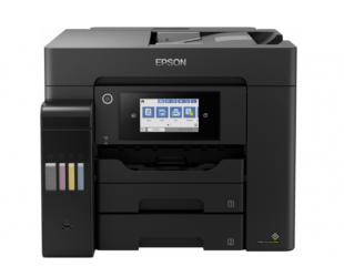 Rašalinis daugiafunkcinis spausdintuvas Epson EcoTank L6570 Colour, Inkjet, A4, Wi-Fi, Black