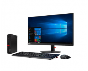 Kompiuteris Lenovo ThinkCentre M720q Desktop, Tiny, Intel Core i5, i5-8400T, Internal memory 8 GB, DDR4, SSD 256 GB, Intel UHD, Keyboard language English, Windows 10 Pro, Warranty 36 month(s)