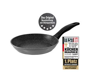 Keptuvė Stoneline Pan 6840 Frying, Diameter 20 cm, Suitable for induction hob, Fixed handle, Anthracite