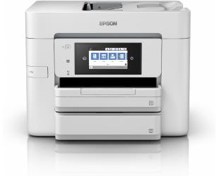 Rašalinis daugiafunkcinis spausdintuvas Epson WorkForce Pro WF-4745DTWF Colour, Inkjet, A4, Wi-Fi, Light Grey