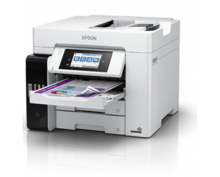 Rašalinis daugiafunkcinis spausdintuvas Epson EcoTank L6580 Colour, Inkjet, A4, Wi-Fi, Light Grey