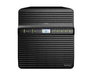 Diskų masyvas Synology Tower NAS DS420j up to 4 HDD/SSD, Realtek RTD1296 Quad Core, Processor frequency 1.4 GHz, 1 GB, DDR4, RAID 0,1,5,6,10,Hybrid, 1x1GbE, 2xUSB 3.0, Dual Fan