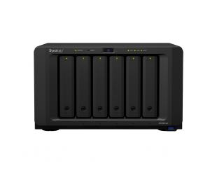 Diskų masyvas Synology Tower NAS DS1621xs+ up to 6 HDD/SSD Hot-Swap, Xeon D-1527 Quad Core, Processor frequency 2.2 GHz, 8 GB, DDR4, 2x M.2 2280 NVMe slots, RAID 0,1,5,6,10,Hybrid, 2x1GbE, 1x10GbE, 3xUSB 3.0, 2x eSATA, 1xPCIe, Dual Fan