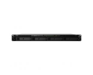 Diskų masyvas Synology Rack NAS RS819 Up to 4 HDD/SSD Hot-Swap, RTD1296 Quad Core, Processor frequency 1.4 GHz, 2 GB, DDR4, RAID 0,1,5,6,10,Hybrid, 2 x 1GbE, 2 x USB 3.2 Gen 1 Port, 1 x eSATA Port, Triple Fan