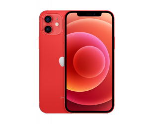 "Mobilus telefonas Apple iPhone 12 Red, 6.1 "", XDR OLED, 2532 x 1170 pixels, Apple, A14 Bionic, Internal RAM 4 GB, 64 GB, Single SIM, Nano-SIM and eSIM, 3G, 4G, 5G, Main camera Dual 12+12 MP, Secondary camera 12 MP, iOS, 14, 2815 mAh"