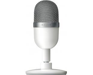 Mikrofonas Razer Condenser Streaming Microphone Seiren Mini Mercury White