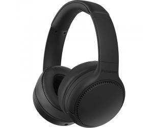 Ausinės Panasonic Deep Bass Wireless Headphones RB-M300BE-K Over-ear, Microphone, Black