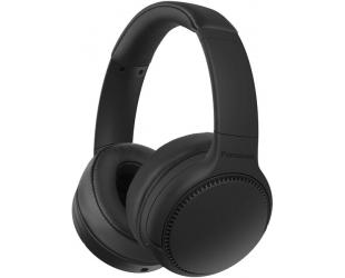 Ausinės Panasonic Deep Bass Wireless Headphones RB-M700BE-K Over-ear, Microphone, Noice canceling, Black