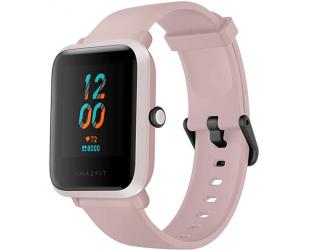 Išmanusis laikrodis Amazfit Bip S Smart watch, GPS (satellite), AMOLED Display, Touchscreen, Heart rate monitor, Activity monitoring 24/7, Waterproof, Bluetooth, Warm Pink