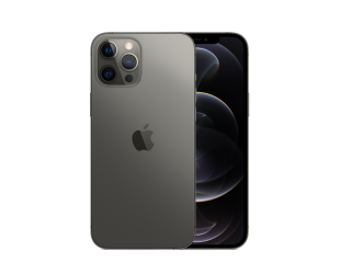 "Mobilus telefonas Apple iPhone 12 Pro Max Graphite, 6.7 "", XDR OLED, 2778 x 1284 pixels, Apple, A14 Bionic, Internal RAM 6 GB, 256 GB, Single SIM, Nano-SIM and eSIM, 3G, 4G, 5G, Main camera Triple 12+12+12 MP, Secondary camera 12 MP, iOS, 14, 3687 m"