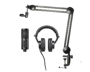 Ausinės ir mikrofono komplektas Audio Technica CREATOR PACK