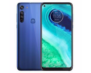"Mobilus telefonas Motorola Moto G8 Blue, 6.4 "", IPS LCD, 720 x 1560 pixels, Qualcomm SM6125 Snapdragon 665, Internal RAM 4 GB, 64 GB, microSDXC, Dual SIM, Nano-SIM, 3G, 4G, Main camera 16+8+2 MP, Secondary camera 8 MP, Android, 10.0, 4000 mAh"