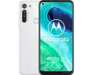 "Mobilus telefonas Motorola Moto G8 White, 6.4"", IPS LCD, 720 x 1560 pixels, Qualcomm SM6125 Snapdragon 665, Internal RAM 4 GB, 64 GB, microSDXC, Dual SIM, Nano-SIM, 3G, 4G, Main camera 16+8+2 MP, Secondary camera 8 MP, Android, 10.0, 4000 mAh"