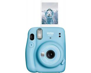 Momentinis fotoaparatas Fujifilm Instax Mini 11 Camera + Instax Mini Glossy (10pl) Focus 0.3 m - ∞, Sky Blue