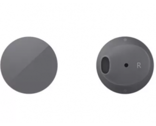 Ausinės Microsoft Surface Earbuds HVM-00020 , In-ear, Dark Gray (Graphite)
