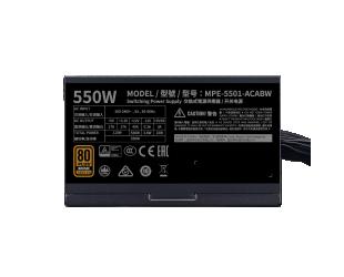 Maitinimo blokas Cooler Master MPE-5501-ACABW-B 550 W