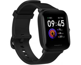 Išmanusis laikrodis Amazfit Bip U GPS (satellite), Reflective Color Display Screen, Touchscreen, Heart rate monitor, Waterproof, Bluetooth, Polycarbonate, Onyx Black