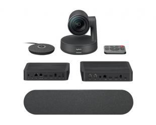 Video konferencijų įranga Logitech Premium Rally Ultra HD su automatiniu kameros valdymu