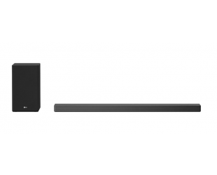 Garso sistema LG 5.1.2ch Hi-Res Dolby Atmos Soundbar with Meridian Technology SN9Y Bluetooth, Wireless connection, Dark Steel Silver, 520 W