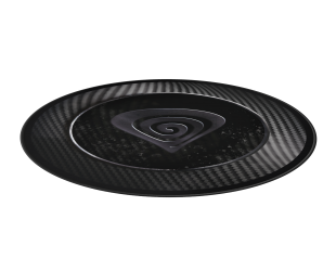Kilimas Genesis Protective Floor Mat Tellur 500 Decay of Carbon Black/Grey