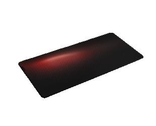 Pelės kilimėlis Genesis Carbon 500 Ultra Blaze Mouse pad, 450 x 1100 x 2.5 mm, Red/Black