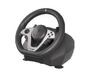 Genesis Driving Wheel Seaborg 400 Silver/Black