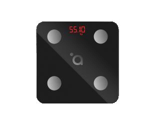 Svarstyklės Acme Smart Scale SC103 iki 180 kg, KMI matavima, juodos