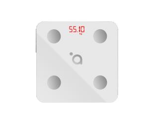 Svarstyklės Acme Smart Scale SC103 iki 180 kg, KMI matavimas, baltos