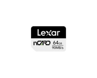 Atminties kortelė Lexar nCARD 64 GB, Black/Grey, 70 MB/s, 90 MB/s