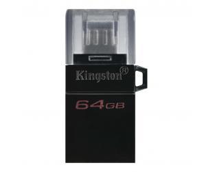 USB raktas Kingston DataTraveler microDuo 3.0 G2 64GB, USB Type-A and microUSB, Black