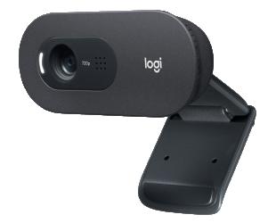 Web kamera Logitech HD USB C505 Black, USB-A