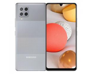 "Mobilus telefonas Samsung Galaxy A42 5G Prism Dot Gray, 6.6 "",  720 x 1600, Qualcomm SM7225 Snapdragon 750 5G, Internal RAM 4 GB, 128 GB, microSD, Dual SIM, Nano-SIM,  4G, 5G, Main camera 48+8+5+5 MP, Secondary camera 20 MP, Android, 10, 5000 mAh"