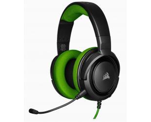 Ausinės Corsair Stereo Gaming Headset HS35 Built-in microphone, Black/Green, Over-Ear