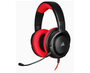 Ausinės Corsair Stereo Gaming Headset HS35 Built-in microphone, Black/Red, Over-Ear