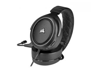 Ausinės Corsair Gaming Headset HS50 PRO STEREO Built-in microphone, Carbon, Over-Ear, Noice canceling