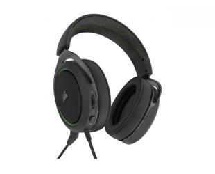 Ausinės Corsair PRO STEREO Gaming Headset HS50 Built-in microphone, Green, Over-Ear
