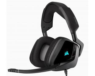 Ausinės Corsair Premium Gaming Headset with 7.1 Surround Sound VOID RGB ELITE USB , Carbon, Over-Ear