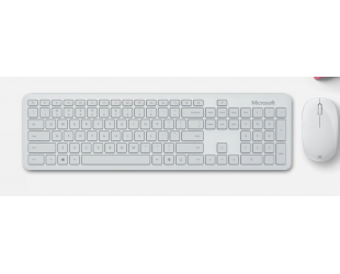 Klaviatūra Microsoft Bluetooth Desktop Wireless Keyboard and Mouse Set, Wireless, Glacier, Bluetooth