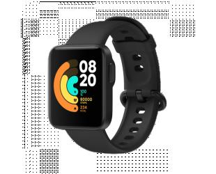 Išmanusis laikrodis Xiaomi Mi Watch Lite Fitness tracker, GPS (satellite), Color TFT, Heart rate monitor, Waterproof, Black