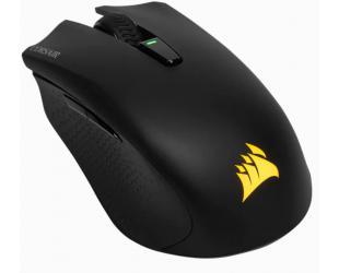 Žaidimų pelė Corsair Gaming Mouse HARPOON RGB WIRELESS 10000 DPI, Wireless connection, Rechargeable, Black
