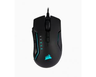 Žaidimų pelė Corsair Gaming Mouse GLAIVE RGB PRO Wired, 18000 DPI, Aluminum