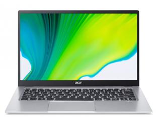 """Nešiojamas kompiuteris Acer Swift 1 SF114-33-P967 Silver, 14"""", IPS, FHD, 1920x1080 pixels, Matt, Intel Pentium, N5030, 8 GB, LPDDR4, SSD 256 GB, Intel UHD 605, No ODD, Windows 10 Home, 802.11 ax/ac/a/b/g/n, Bluetooth version 5.0, Keyboard languag"""