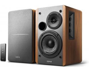 Kolonėlės Edifier Powered Bookshelf Speakers SR1280TS Brown, Wireless connection