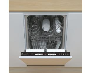 Indaplovė Candy Dishwasher CDIH 1L952 Built-in, Width 44.8 cm, Number of place settings 9, Number of programs 5, Energy efficiency class F, AquaStop function, White