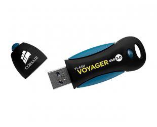 USB raktas Corsair Voyager 32GB, USB 3.0, Black/Blue