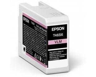 Rašalo kasetė Epson UltraChrome Pro 10 ink T46S6 Ink cartrige, Vivid Light Magenta
